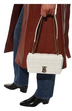 Женская сумка lola small BURBERRY белого цвета, арт. 8021106   Фото 2