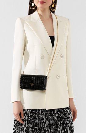 Женская сумка camille BURBERRY черного цвета, арт. 8028024   Фото 2