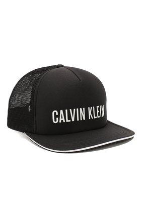 Женская бейсболка CALVIN KLEIN черного цвета, арт. KU0KU00056 | Фото 1