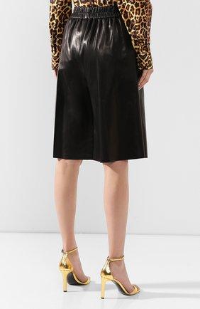 Женские кожаные шорты TOM FORD черного цвета, арт. SHL004-LEX228 | Фото 4