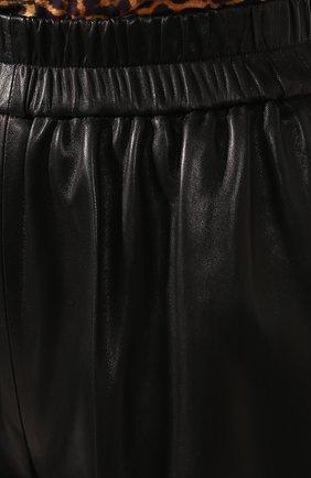 Женские кожаные шорты TOM FORD черного цвета, арт. SHL004-LEX228 | Фото 5