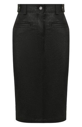 Женская юбка TOM FORD черного цвета, арт. GCD037-DEX103 | Фото 1