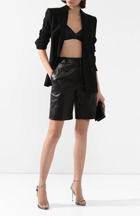 Женская кожаный топ TOM FORD черного цвета, арт. BRL006-LEX251 | Фото 2