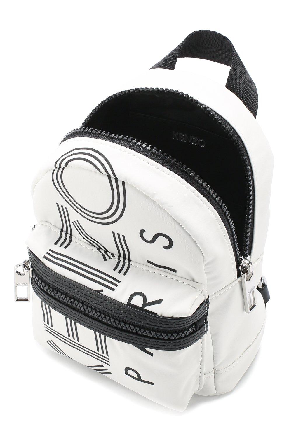 Женский рюкзак KENZO белого цвета, арт. F865SF215F24   Фото 4