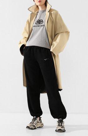 Женские текстильные кроссовки track.2 BALENCIAGA бежевого цвета, арт. 568615/W2GN3 | Фото 2