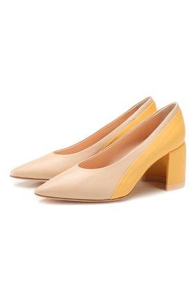 Женская кожаные туфли AGL разноцветного цвета, арт. D239060PAKL034D453 | Фото 1