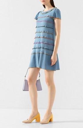 Женская кожаные туфли AGL разноцветного цвета, арт. D239060PAKL034D453 | Фото 2