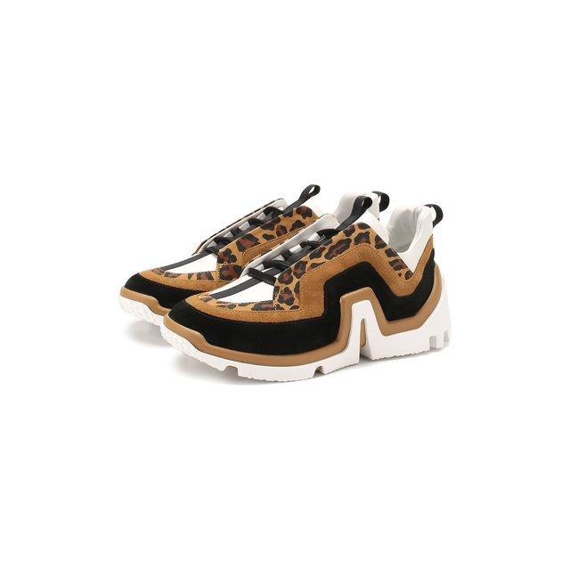 Кожаные кроссовки Vibe Pierre Hardy — Кожаные кроссовки Vibe