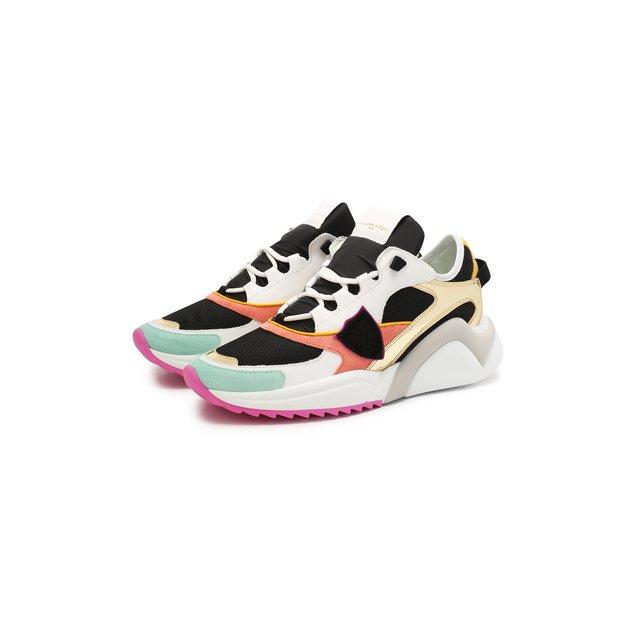 Комбинированные кроссовки Philippe Model — Комбинированные кроссовки