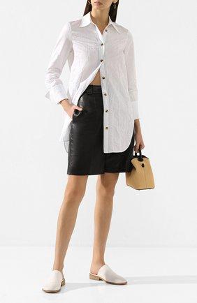 Женские кожаные сабо MARSELL белого цвета, арт. MW5811/PELLE V0L0NATA | Фото 2