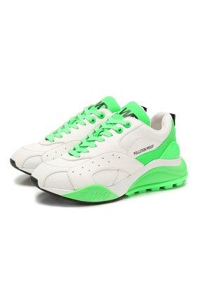 Женские кроссовки F_WD зеленого цвета, арт. FWS34052A/11055 | Фото 1