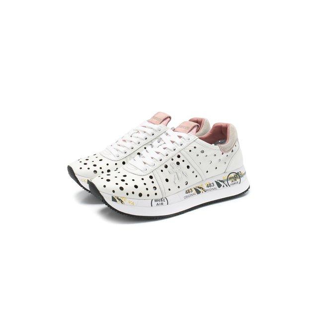Кожаные кроссовки Conny Premiata — Кожаные кроссовки Conny