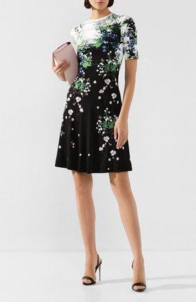 Женские кожаные босоножки sophie GIUSEPPE ZANOTTI DESIGN черного цвета, арт. I700047/053 | Фото 2