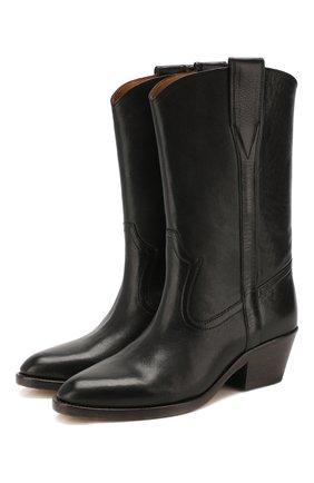 Женские кожаные сапоги danta ISABEL MARANT черного цвета, арт. DANTA/BT0097-20P007S | Фото 1