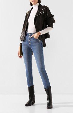 Женские кожаные сапоги danta ISABEL MARANT черного цвета, арт. DANTA/BT0097-20P007S | Фото 2