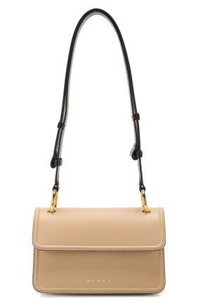 Женская сумка new beat MARNI бежевого цвета, арт. BNMP0006Q0/LV589   Фото 1