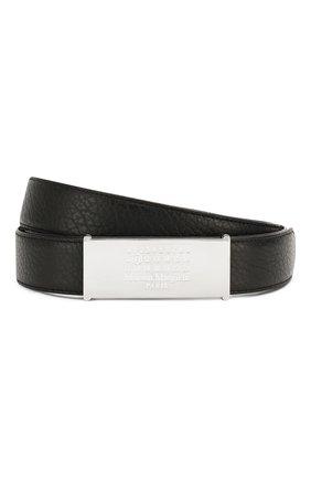 Женский двусторонний кожаный ремень MAISON MARGIELA черного цвета, арт. S56TP0125/P3172 | Фото 1
