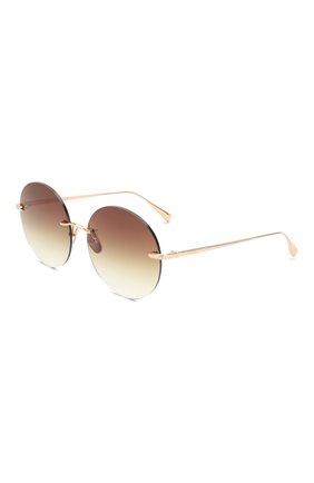 Мужские солнцезащитные очки EQUE.M золотого цвета, арт. NKNK/RG | Фото 1