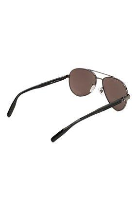 Женские солнцезащитные очки MONTBLANC черного цвета, арт. MB0032 001 | Фото 5