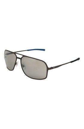 Мужские солнцезащитные очки MONTBLANC серого цвета, арт. MB0104S 002 | Фото 1