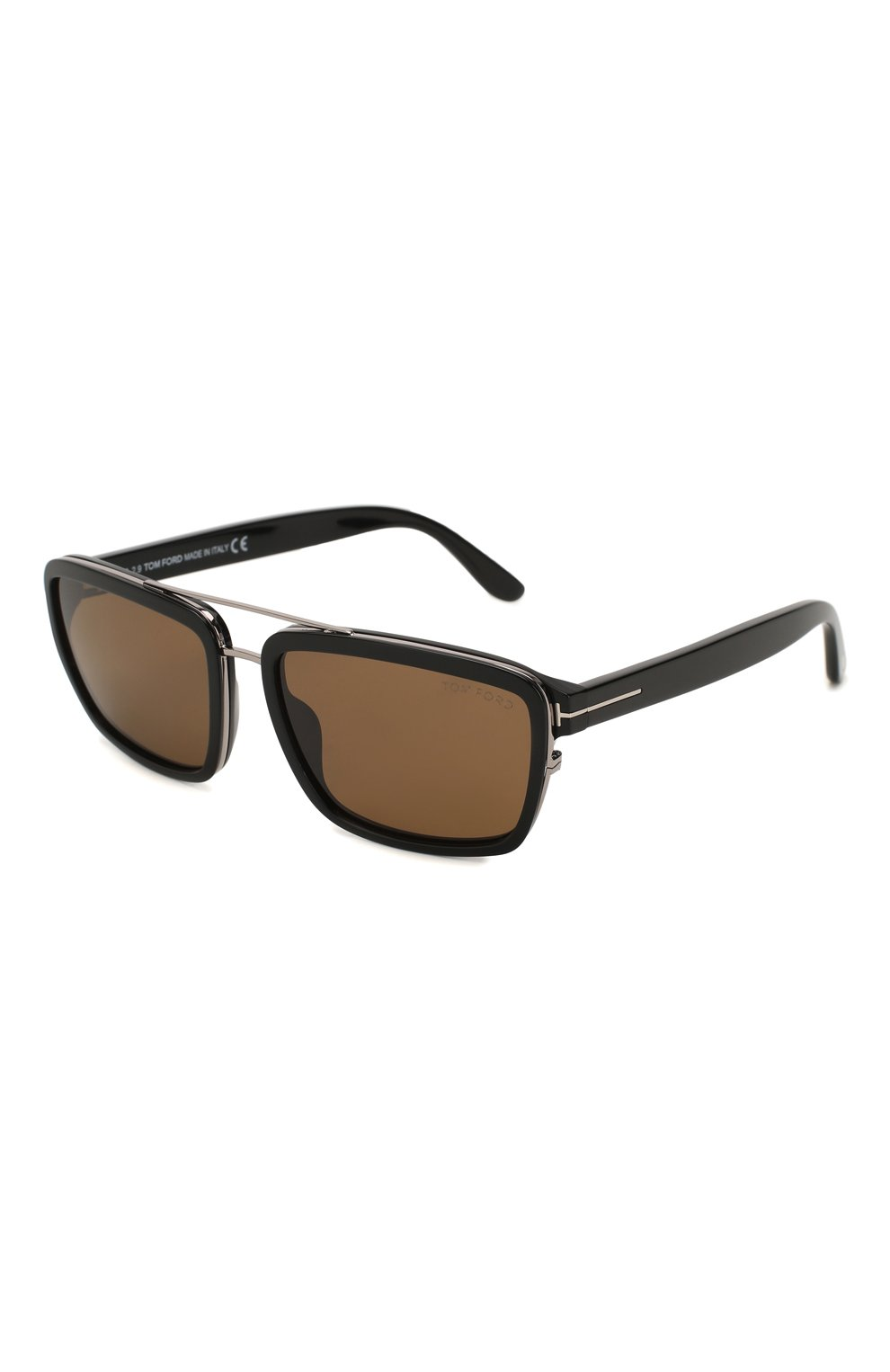 Женские солнцезащитные очки TOM FORD черного цвета, арт. TF780 01J | Фото 1