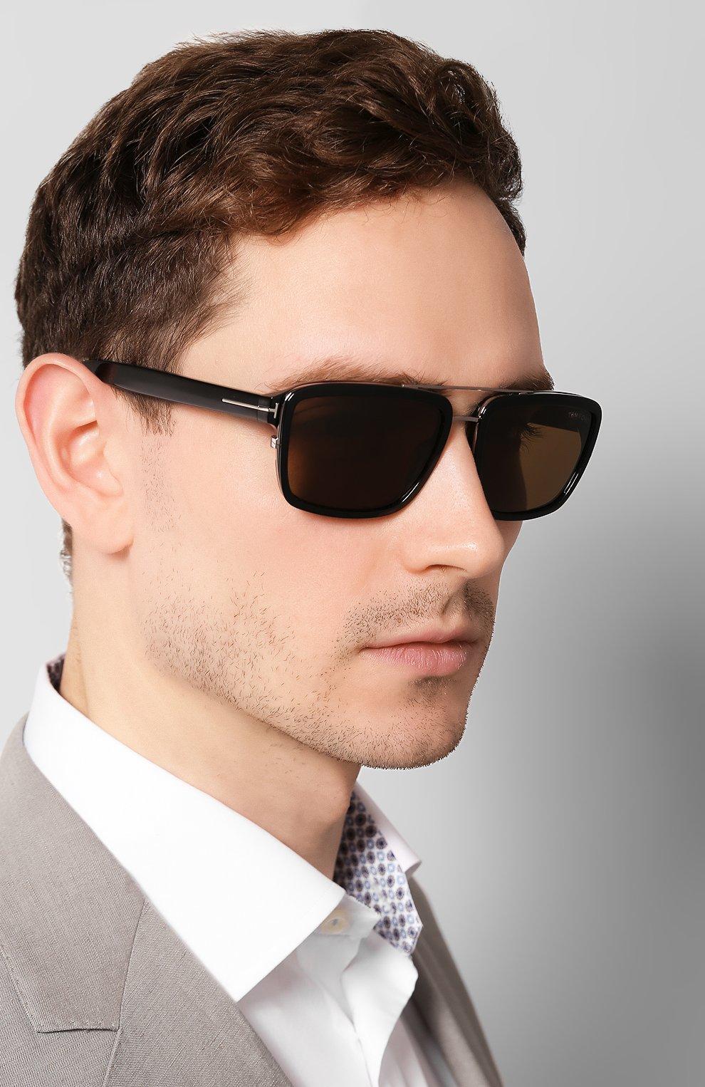 Женские солнцезащитные очки TOM FORD черного цвета, арт. TF780 01J | Фото 2