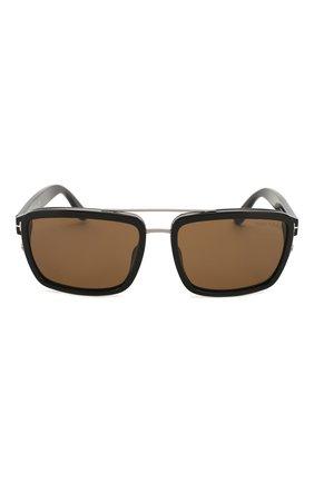 Женские солнцезащитные очки TOM FORD черного цвета, арт. TF780 01J | Фото 3