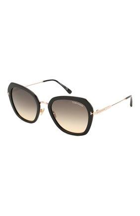 Женские солнцезащитные очки TOM FORD черного цвета, арт. TF792 01B   Фото 1