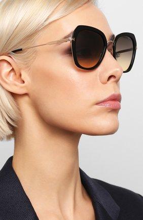 Женские солнцезащитные очки TOM FORD черного цвета, арт. TF792 01B   Фото 2