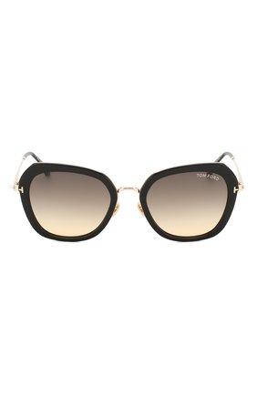 Женские солнцезащитные очки TOM FORD черного цвета, арт. TF792 01B   Фото 3