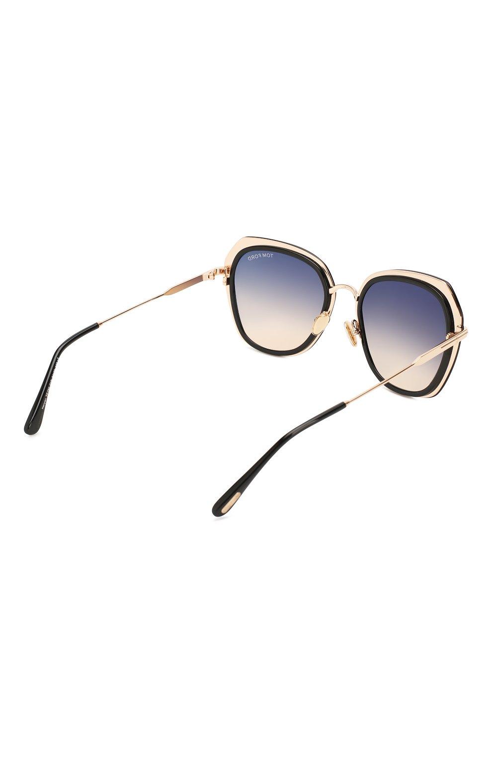 Женские солнцезащитные очки TOM FORD черного цвета, арт. TF792 01B   Фото 4