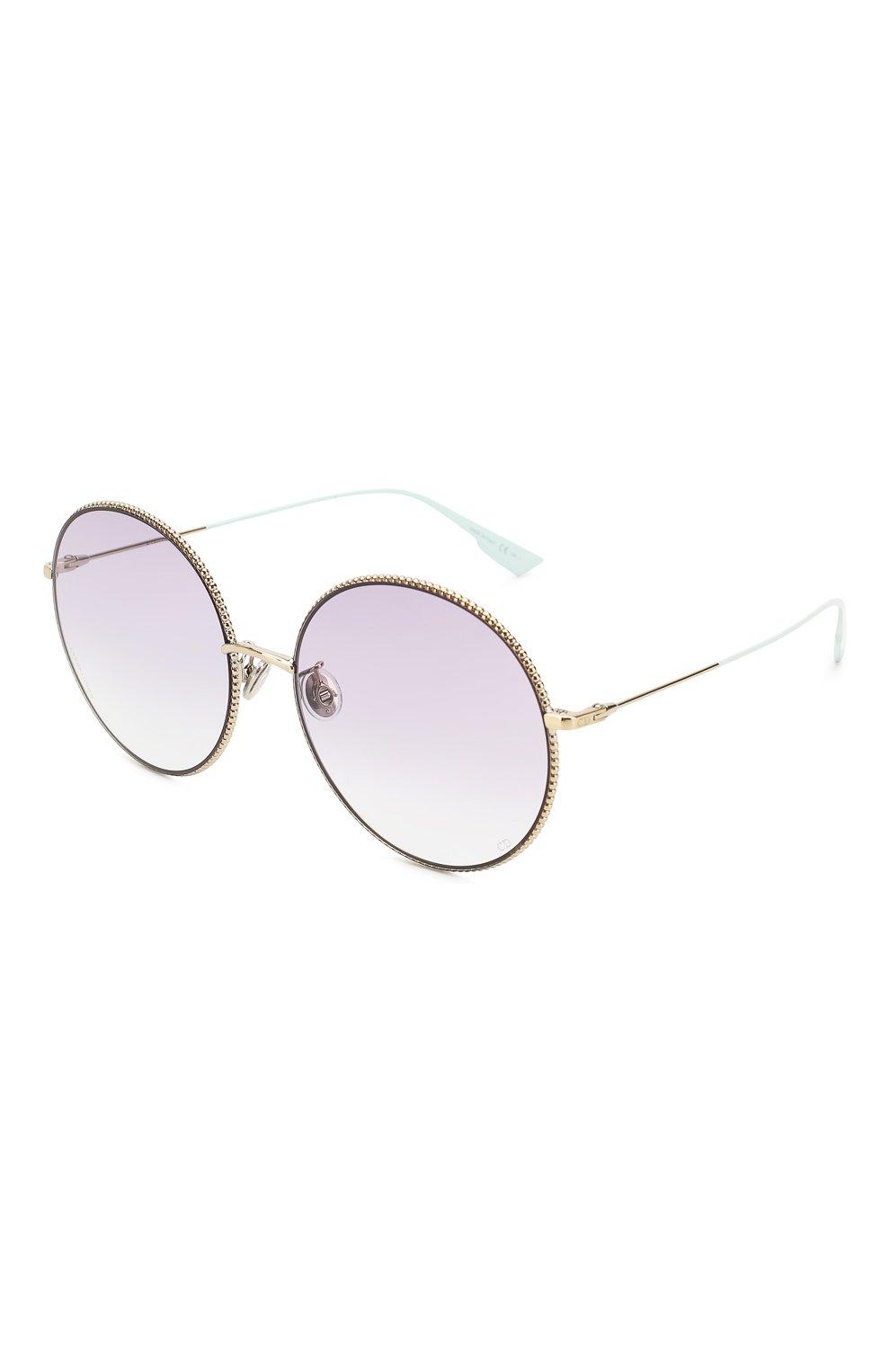 Женские солнцезащитные очки DIOR сиреневого цвета, арт. DI0RS0CIETY2F 3YG   Фото 1