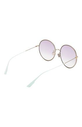 Женские солнцезащитные очки DIOR сиреневого цвета, арт. DI0RS0CIETY2F 3YG   Фото 4