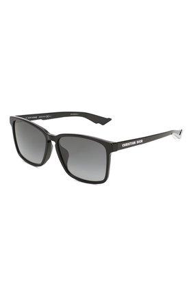 Женские солнцезащитные очки DIOR черного цвета, арт. DI0RB24.2F 807 | Фото 1