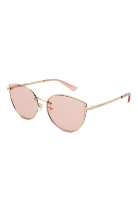 Женские солнцезащитные очки MCQ SWALLOW розового цвета, арт. MQ0248SK 004 | Фото 1