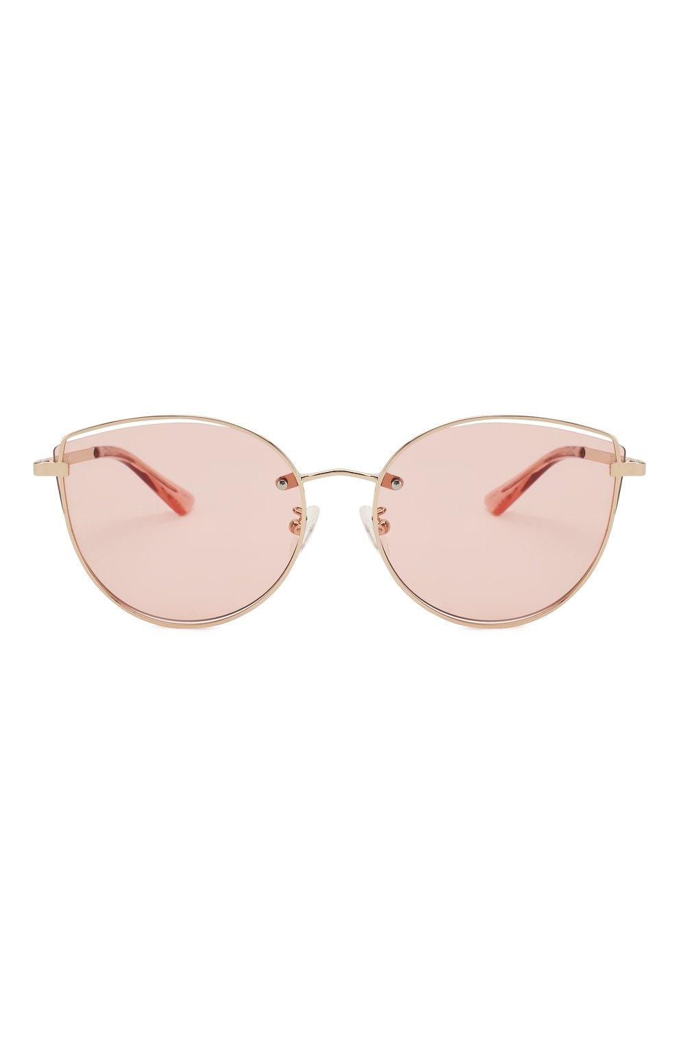 Женские солнцезащитные очки MCQ SWALLOW розового цвета, арт. MQ0248SK 004 | Фото 3