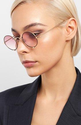 Мужские солнцезащитные очки MATSUDA розового цвета, арт. 10601H RG-MBK | Фото 2