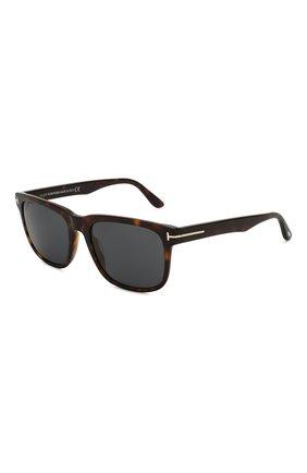 Мужские солнцезащитные очки TOM FORD коричневого цвета, арт. TF775 52A | Фото 1