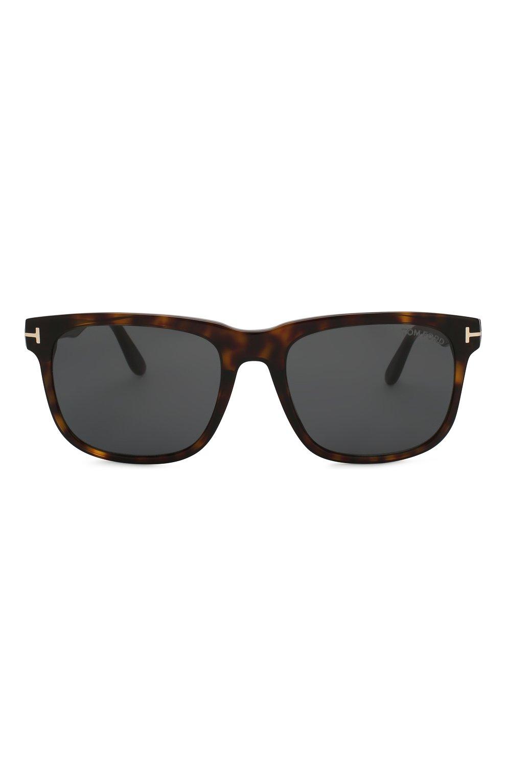 Женские солнцезащитные очки TOM FORD коричневого цвета, арт. TF775 52A | Фото 3