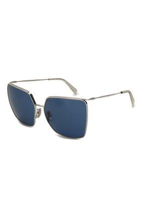 Женские солнцезащитные очки CELINE EYEWEAR синего цвета, арт. CL40135U 16V | Фото 1