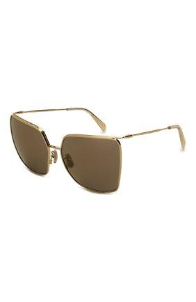 Женские солнцезащитные очки CELINE EYEWEAR коричневого цвета, арт. CL40135U 32L | Фото 1