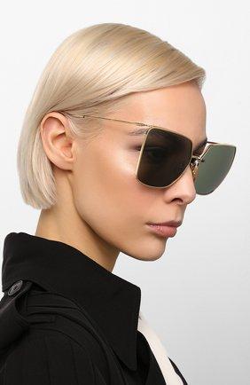 Женские солнцезащитные очки CELINE EYEWEAR черного цвета, арт. CL40135U 32N | Фото 2