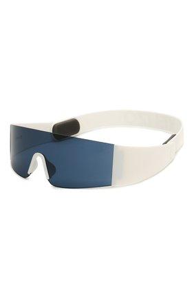 Женские солнцезащитные очки KENZO белого цвета, арт. KZ40064I 21V | Фото 1 (Тип очков: С/з; Оптика Гендер: оптика-унисекс; Очки форма: Маска)