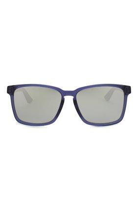 Женские солнцезащитные очки DIOR синего цвета, арт. DI0RB24.2F PJP | Фото 4