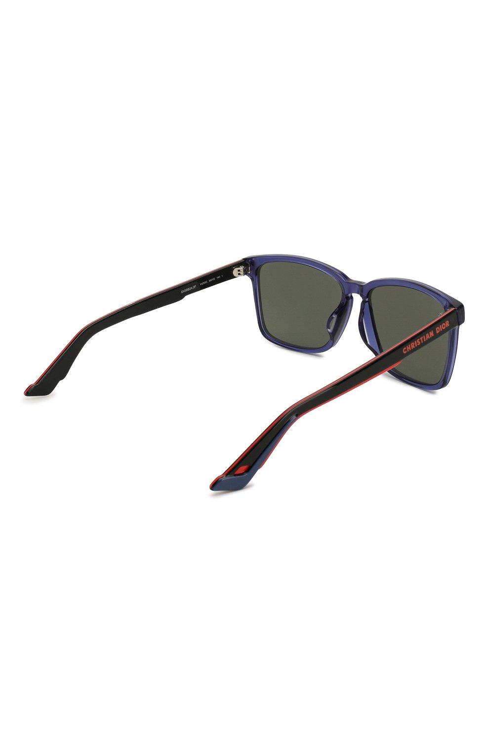 Женские солнцезащитные очки DIOR синего цвета, арт. DI0RB24.2F PJP | Фото 5