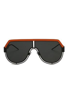 Мужские солнцезащитные очки DOLCE & GABBANA черного цвета, арт. 2231-110687   Фото 3