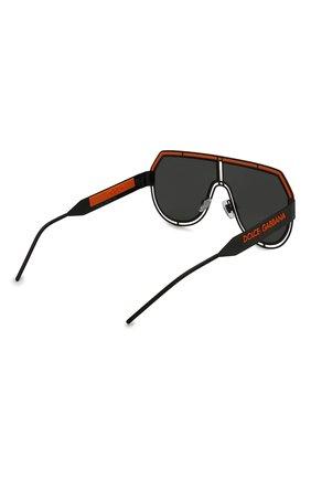 Мужские солнцезащитные очки DOLCE & GABBANA черного цвета, арт. 2231-110687   Фото 4