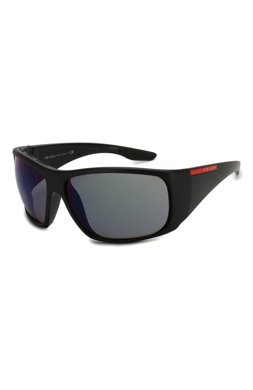 Мужские солнцезащитные очки PRADA LINEA ROSSA черного цвета, арт. 04VS-1B09Q1   Фото 1