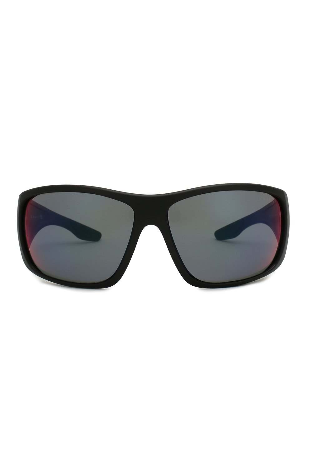 Мужские солнцезащитные очки PRADA LINEA ROSSA черного цвета, арт. 04VS-1B09Q1   Фото 3