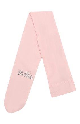 Детские колготки LA PERLA розового цвета, арт. 40244/15M-6A | Фото 1